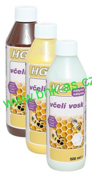 HG Včelí vosk hnědý 0,5l