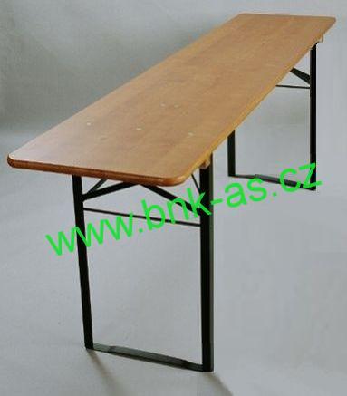 Pivní stůl smrk š.60x220cm
