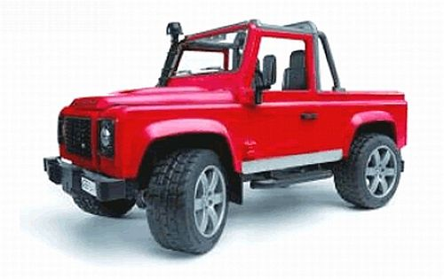 BRUDER 2591 Land Rover Defender Pick Up