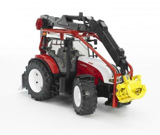 BRUDER 3092 Bworld Traktor lesní STEYR CVT 6230