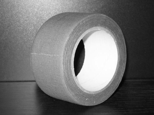 """Textilní kobercová páska """"lemovka"""" šíře 48 mm x 10 m šedá"""