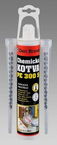 Chemická kotva PE 300 S 300g kartuše