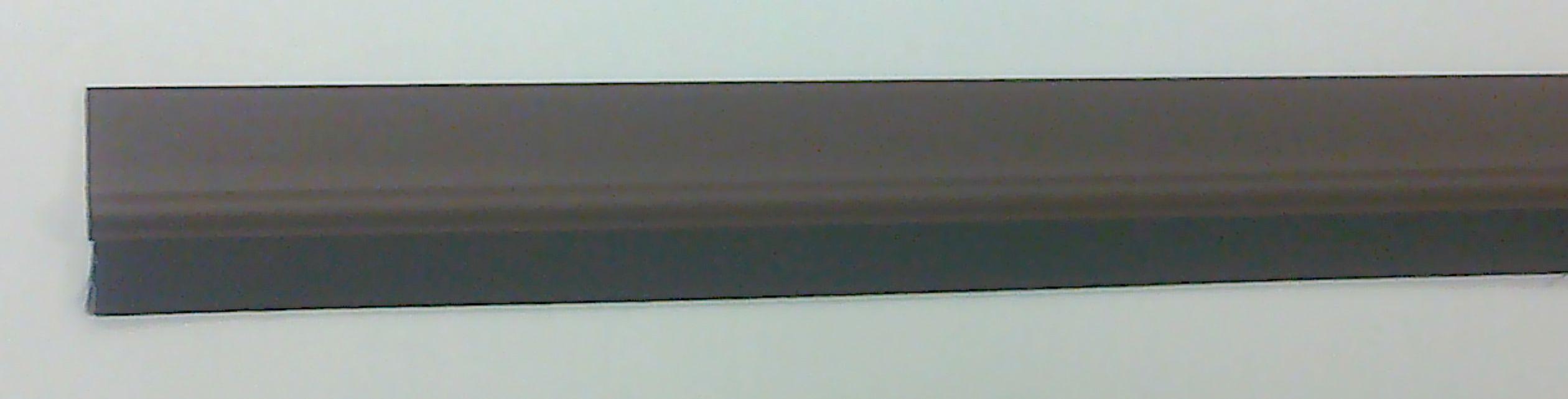 Kartáčová těsnící lišta na dveře hnědá (88011)
