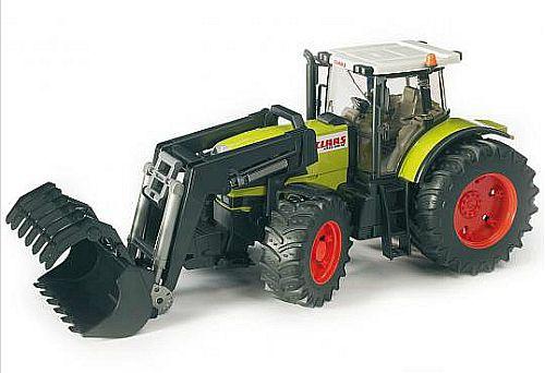 Bruder 3011 Traktor CLAAS ATLES 936 RZ čelní nakladač