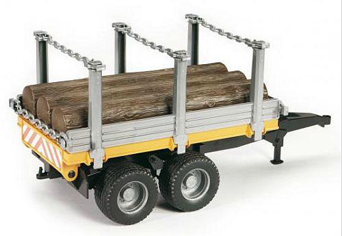 Bruder 2213 přívěs pro přepravu dřeva