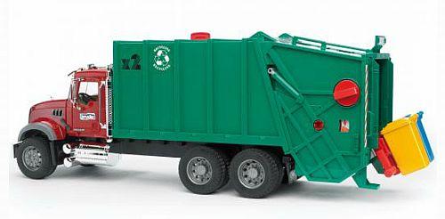BRUDER 2812 Auto nákladní MACK popelář