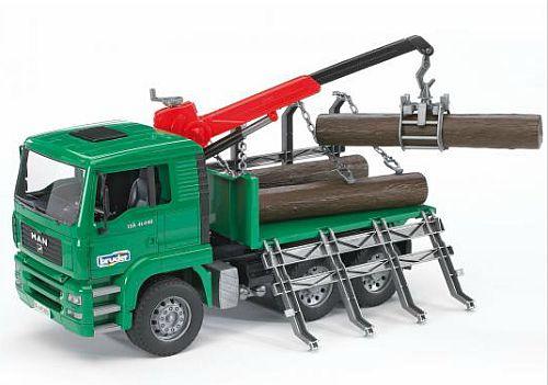 Bruder 2769 MAN nákladní auto na svoz dřeva