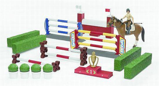 BRUDER 62530 Bworld Překážky, kůň, figurka