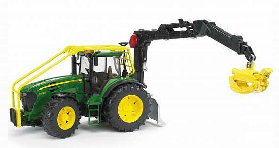 Bruder 3053 Lesní traktor JOHN DEERE