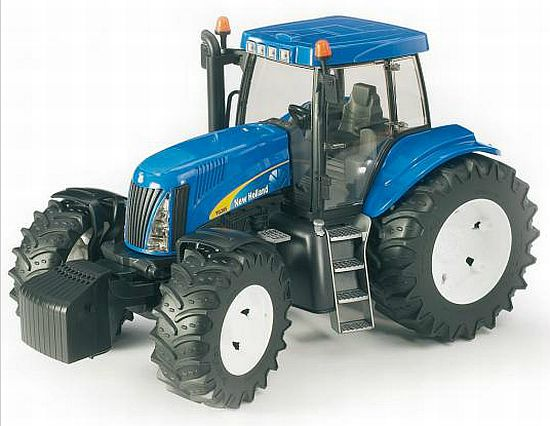 BRUDER 3020 New Holland T8040 traktor