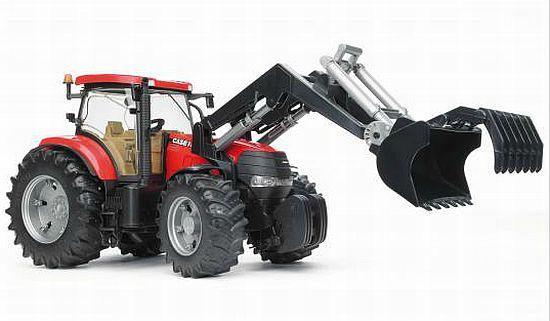 Bruder 3096 Traktor CASE CVX 230 s čelním nakladačem