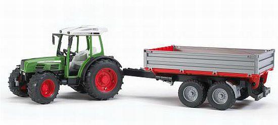 BRUDER 2104 Traktor Fendt Farmer a sklápěcí vůz