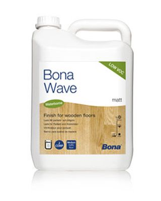 Bona Wave 5l mat (4,8l laku + 0,2l tužidla)