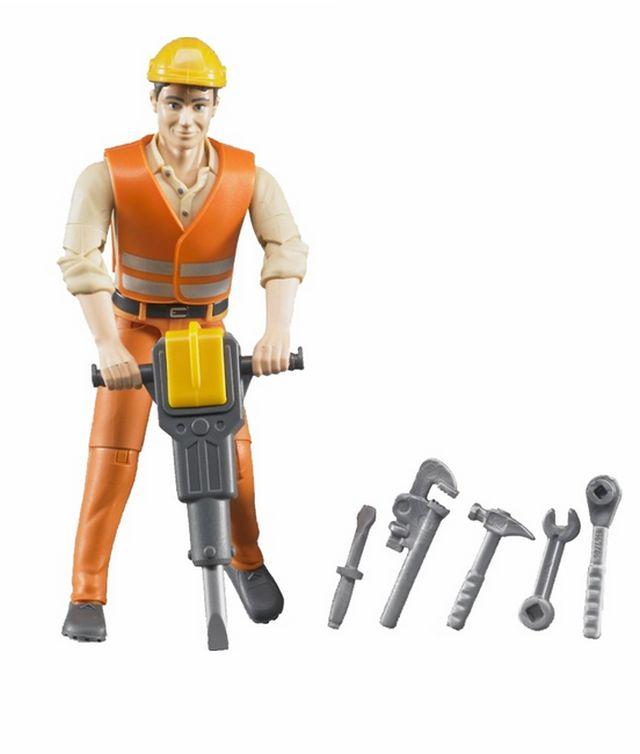 Bruder 60020 Bworld figurka stavební dělník