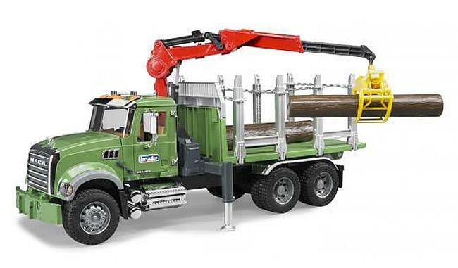 BRUDER 2824 Auto MACK Granit přepravník dřeva