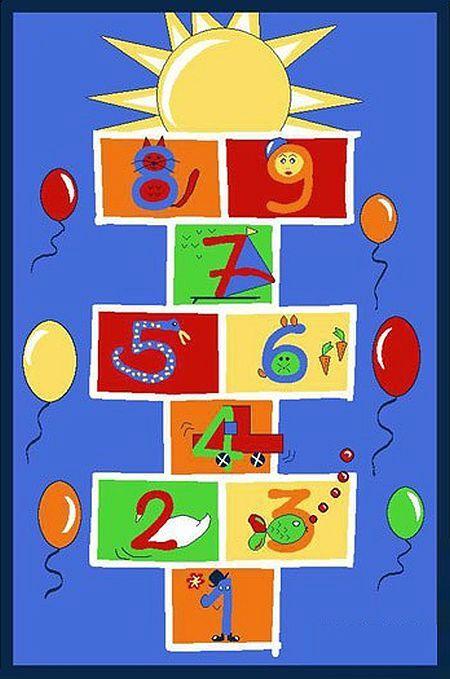 Dětský koberec 100 x 150 cm - Child 010/09008 (skákací panák)