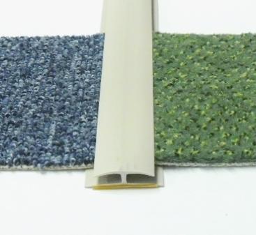 Přechodová lišta na koberec 35mm pvc béžová (51071014)