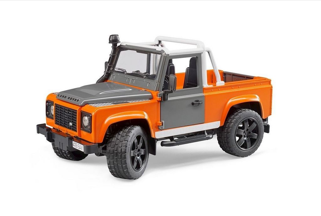 Bruder 02591 Land Rover Defender Pick Up 2018