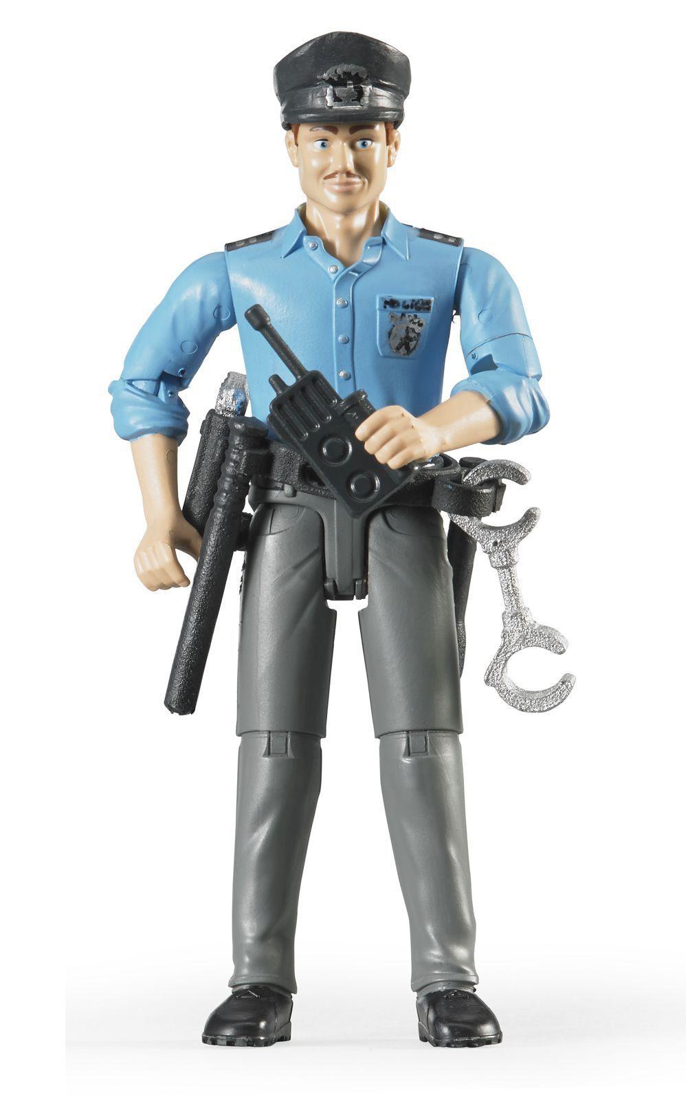 Bruder 60050 Figurka Policista světlá pleť s příslušenstvím 9678964ab1