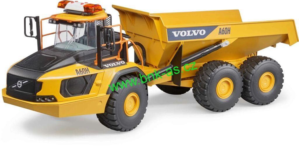 d tsk zbo hra ky bruder 02455 volvo dumper a60h. Black Bedroom Furniture Sets. Home Design Ideas