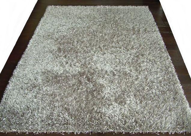 Kusový koberec LILOU taupe 200x290cm (vysoký vlas)