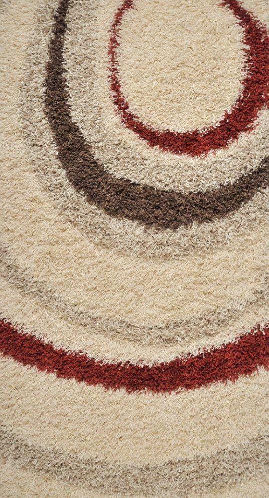 Kusový koberec SUPER SHAGGY 6575/67 200x290cm (vysoký vlas)