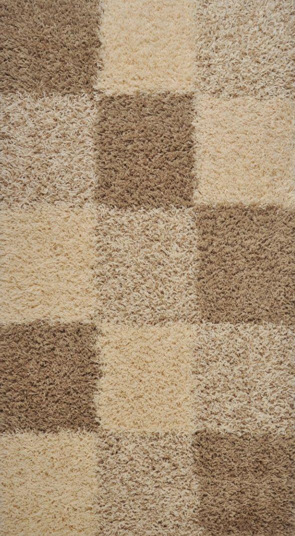 Kusový koberec SUPER SHAGGY 6566/56 80x150cm (vysoký vlas)