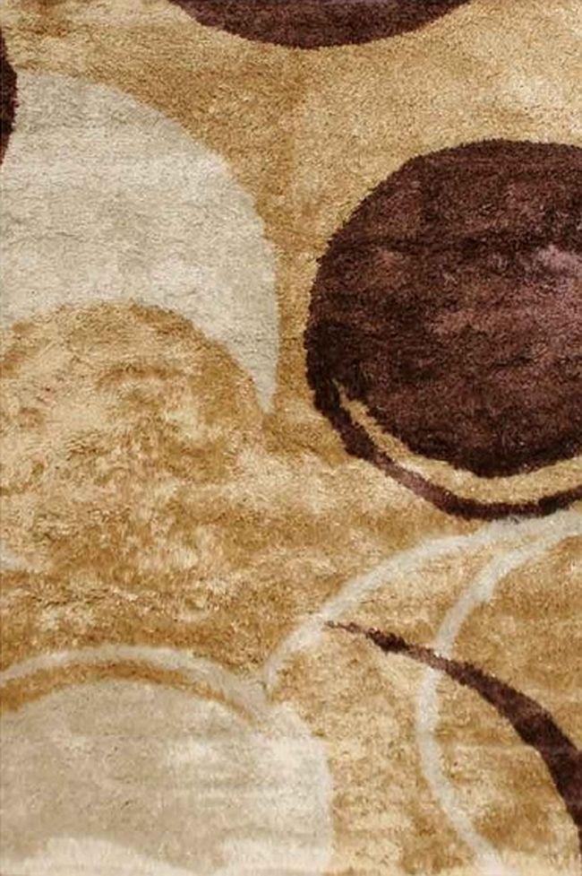 Kusový koberec E03 107 160x230cm (vysoký vlas)