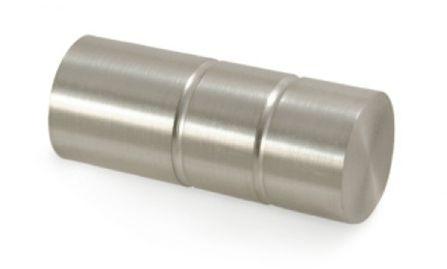 Gardinia Windsor 25mm koncovka válec kov ušlechtilá ocel 2ks