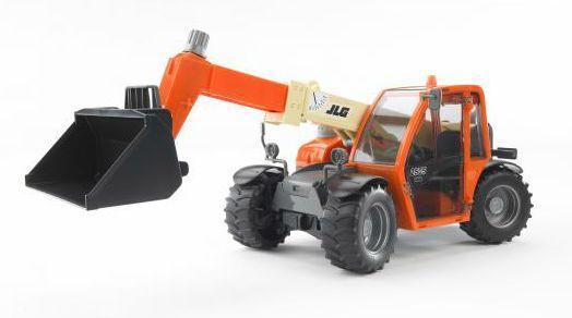 BRUDER 2140 čelní nakladač JLG 2505 s výsuvným ramenem
