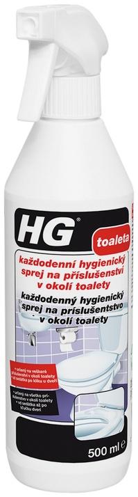 HG každodenní hygienický sprej na příslušenství v okolí WC 0 5 l