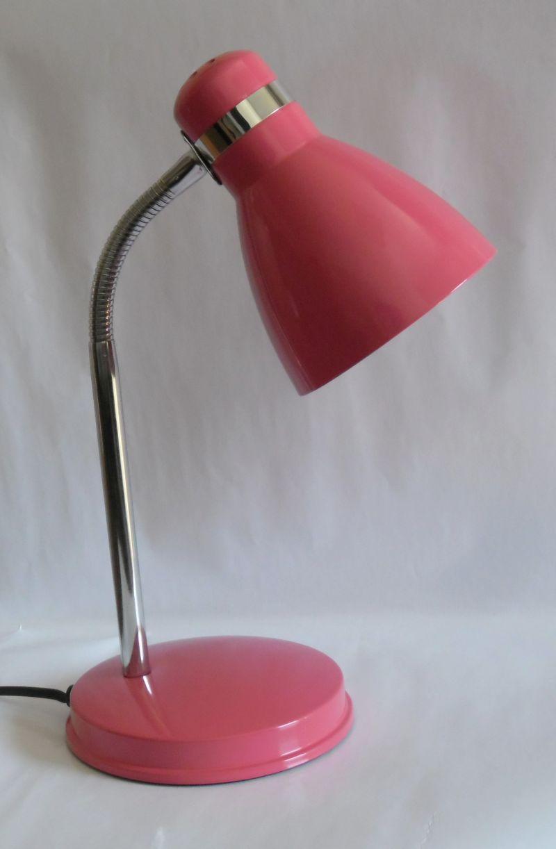 NIPEKO žárovková stolní lampa 604.007 červená