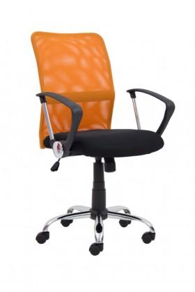 kancelářská židle ROMA oranžová