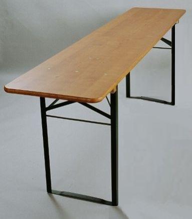 Pivní stůl smrk š.50x220cm