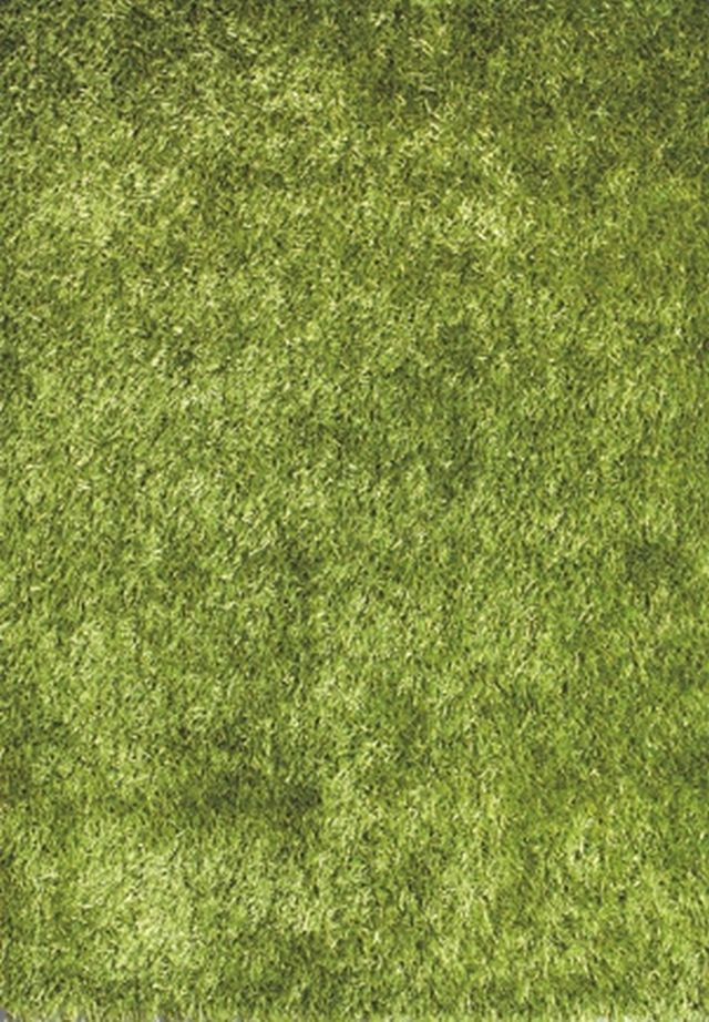 Kusový koberec LILOU green 80x150cm (vysoký vlas)