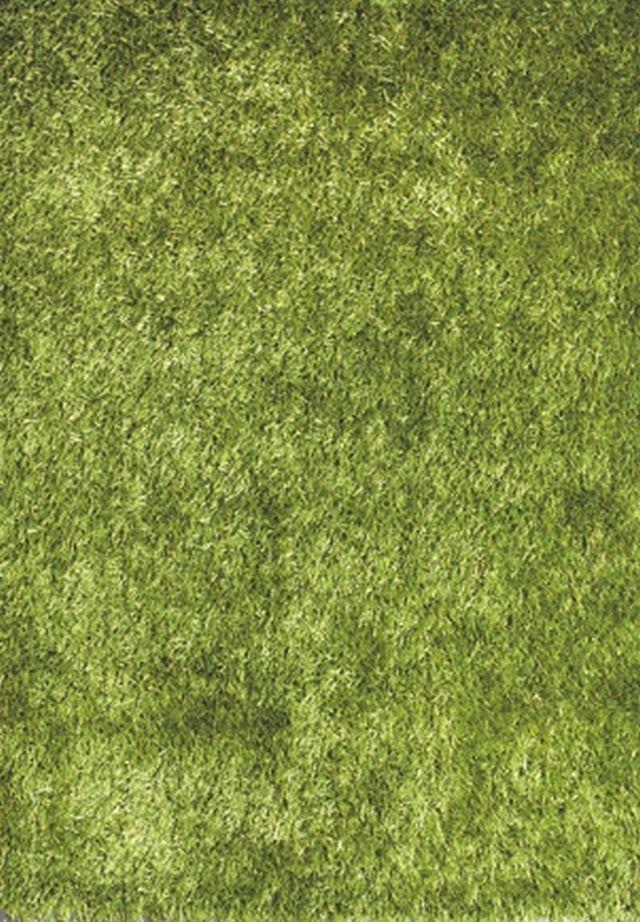 Kusový koberec LILOU green 200x290cm (vysoký vlas)