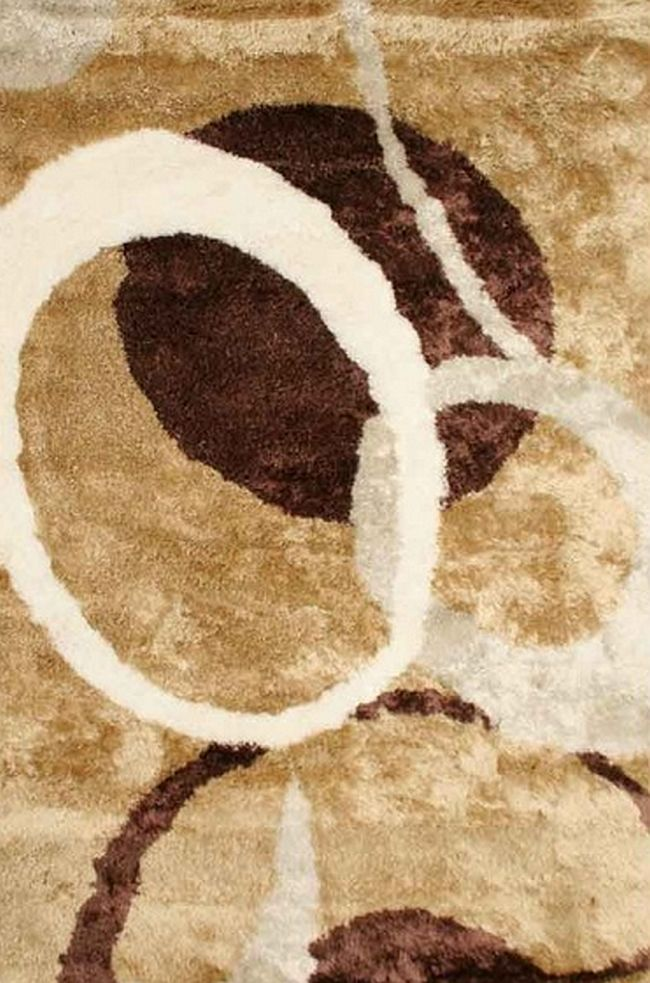 Kusový koberec E03 108 160x230cm (vysoký vlas)
