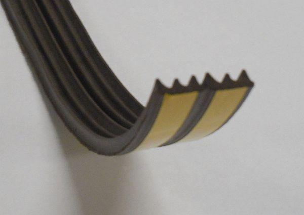 Gumové samolepicí těsnění oken a dveří profil W hnědé (metráž 881100)