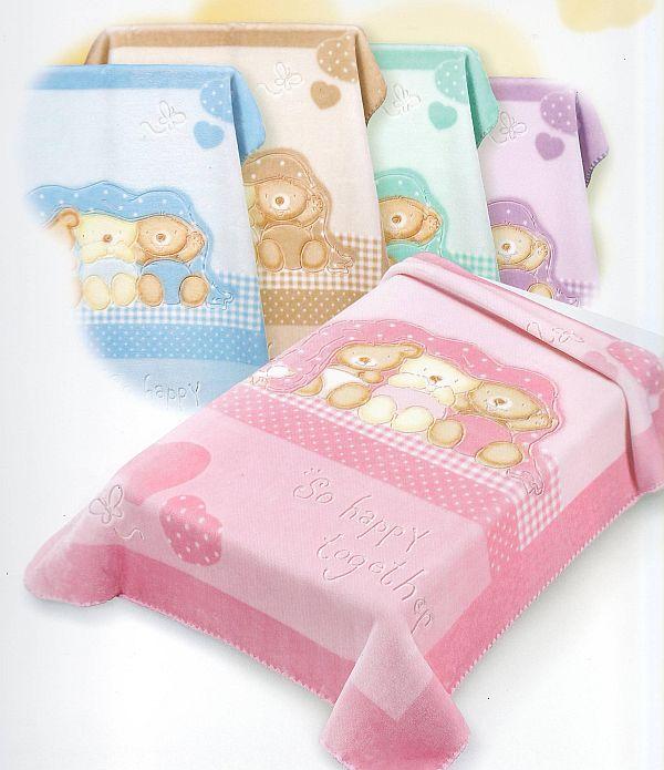 BELPLA Baby Perla 543 španělská deka béžová