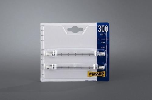 MASSIVE halogenová žárovka 300W R7S