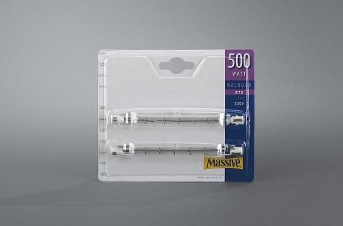 MASSIVE halogenová žárovka 500W, R7S