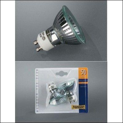MASSIVE halogenová žárovka 50W, GU5,3