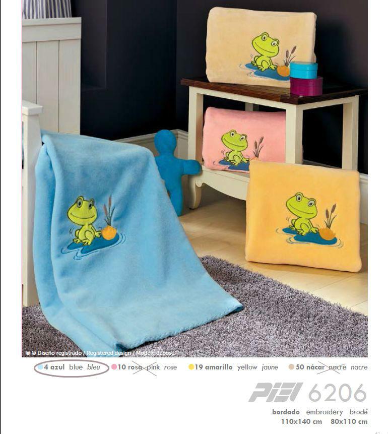 PIELSA španělská dětská deka 110x140, modrá (Modrá)