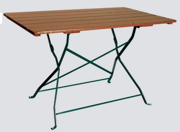 Zahradní stůl Klasik 70x70 cm jasan, skládací