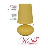 Stolní lampa 0508 Oscar žlutá