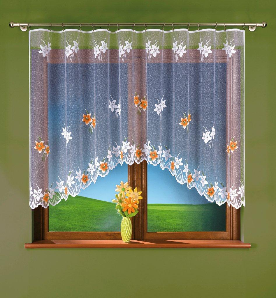 KLÁRA kusová záclona 300x150cm barevná