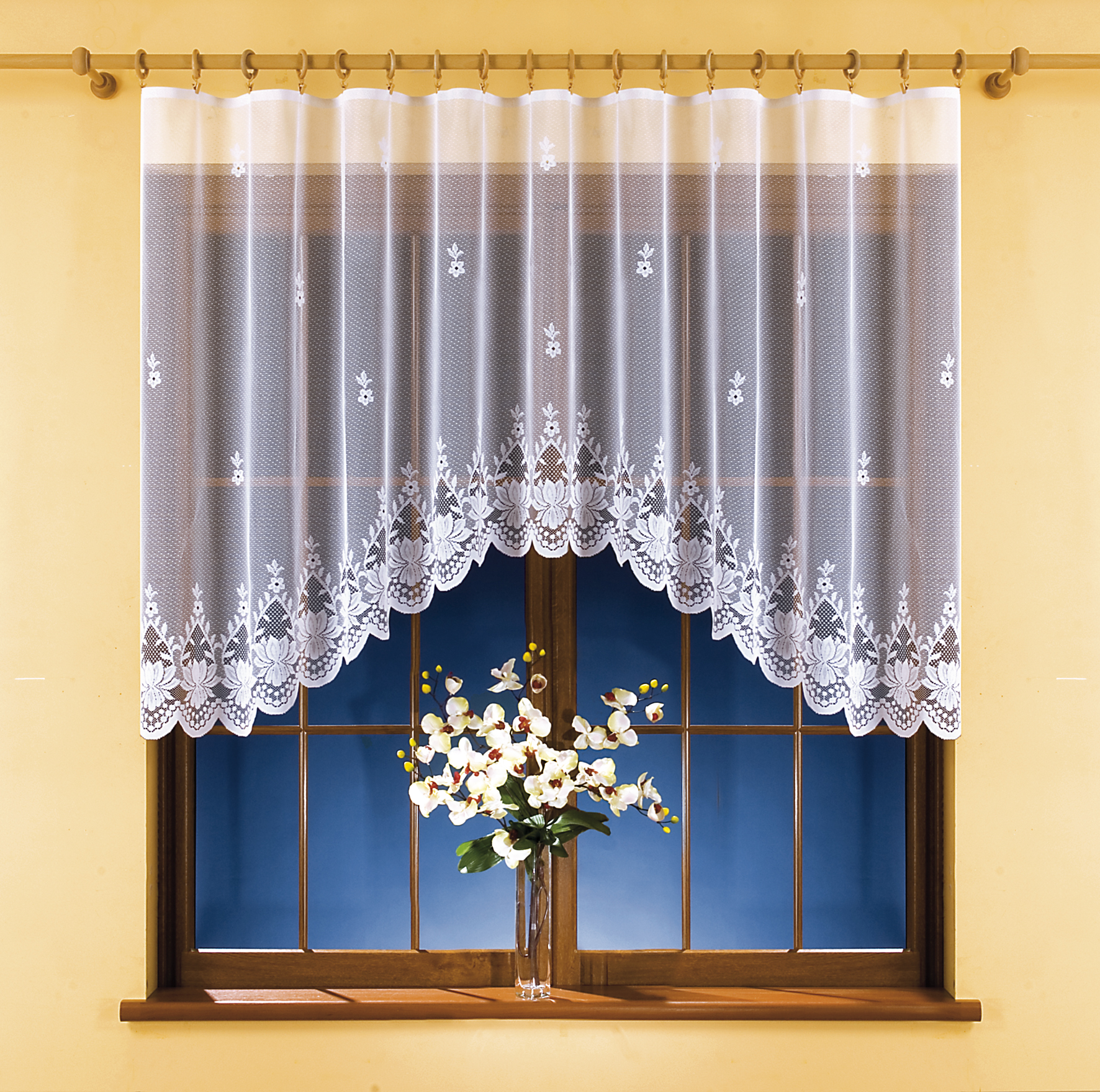 IVETA kusová záclona 300x140cm