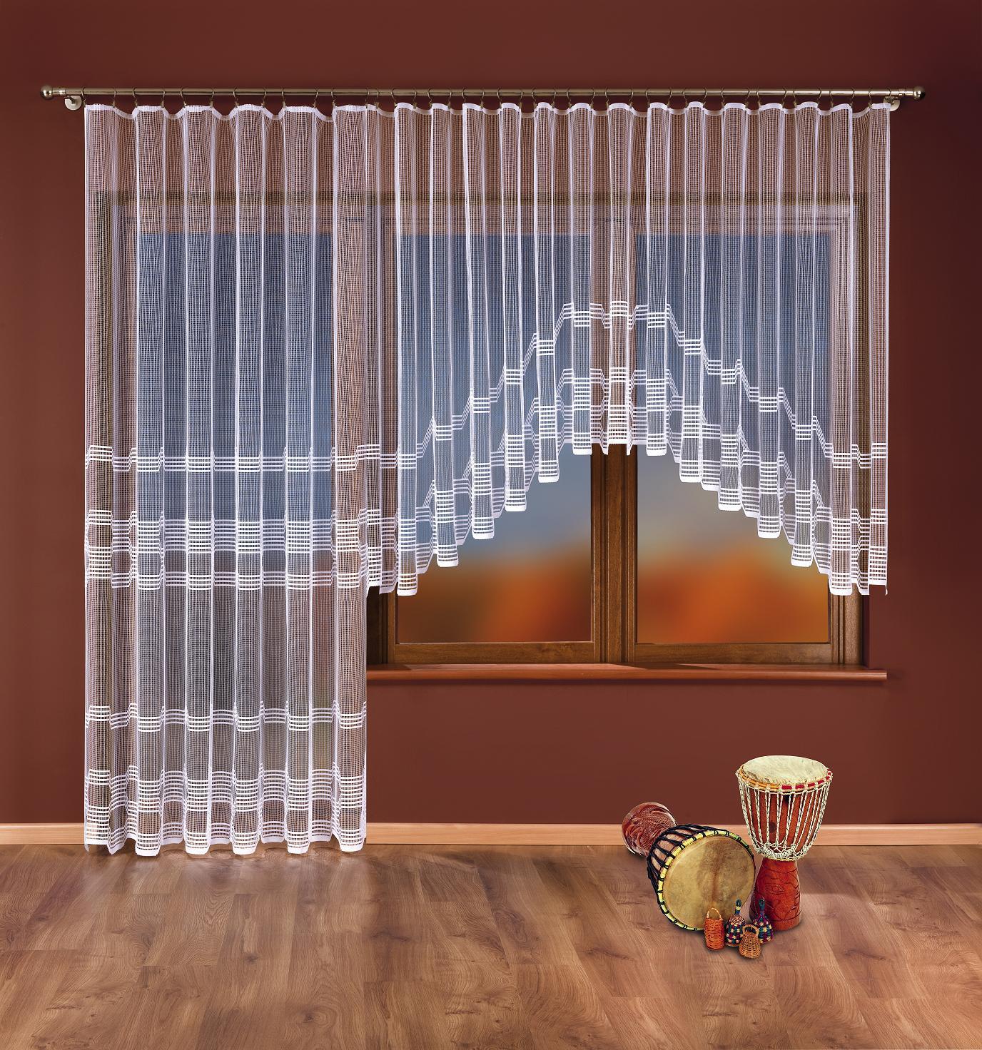 IVONA kusová záclona 250x120cm