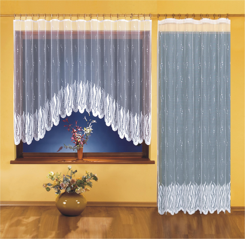 SÁRA kusová záclona 400x160+200x250cm