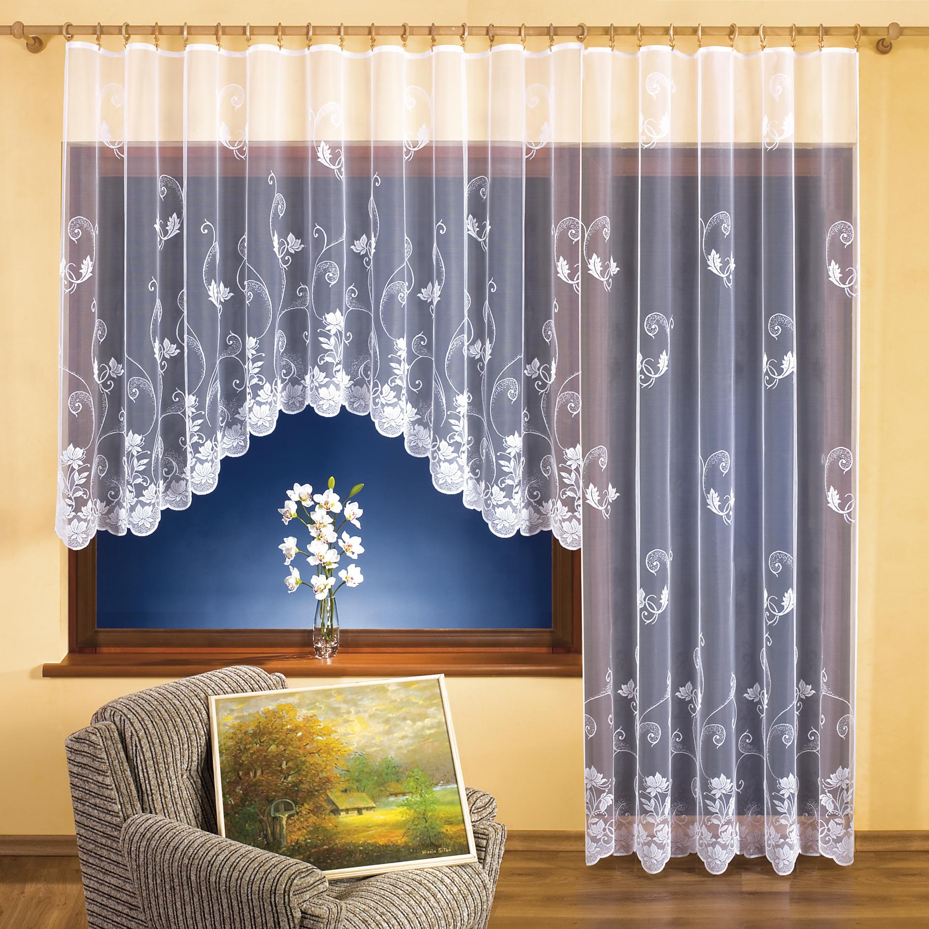 VĚRA kusová záclona 350x160cm